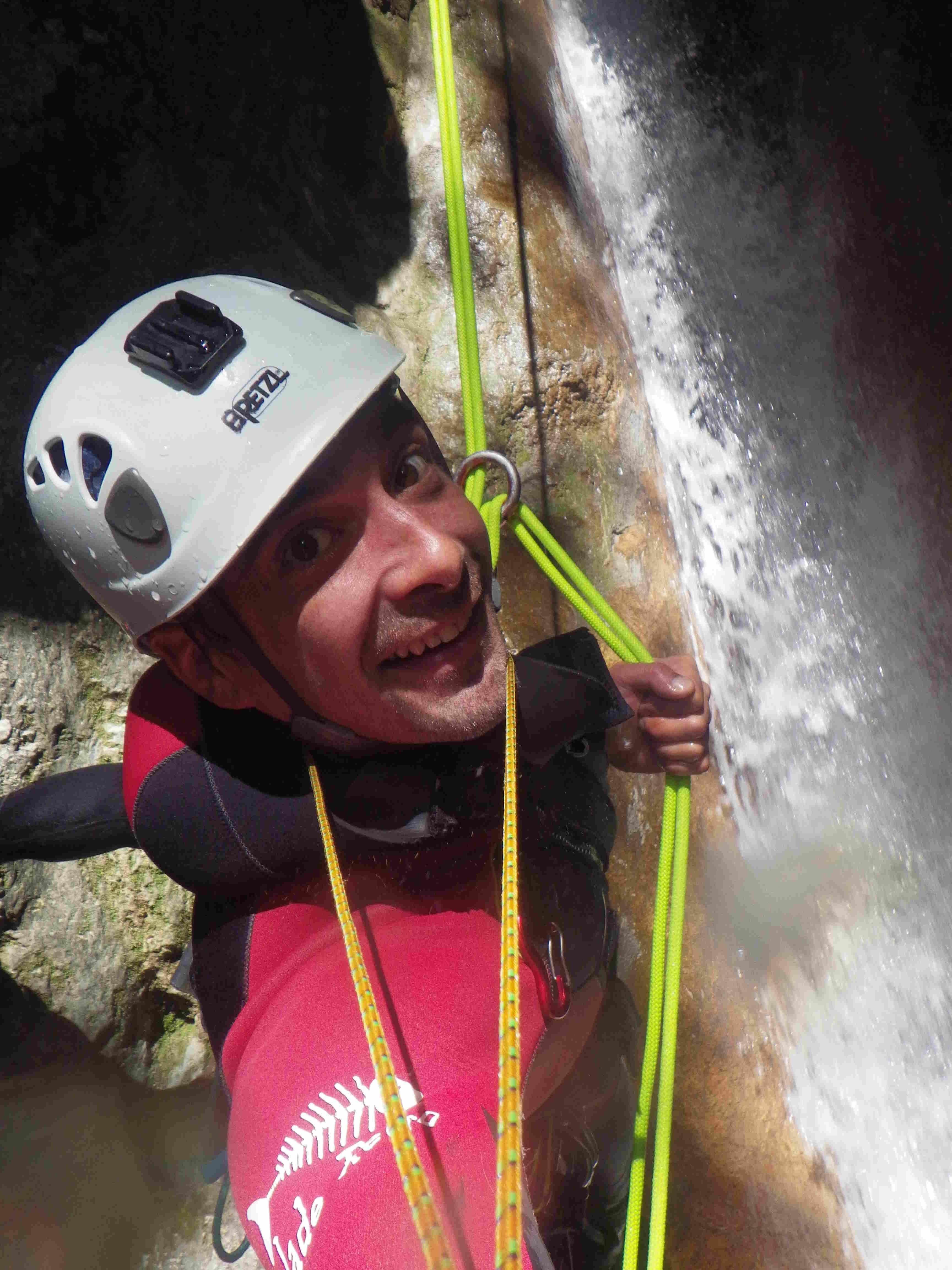 encadrement isere canyoning