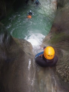 isere canyoning canyon du furon grenoble