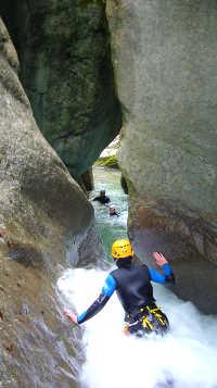 canyon des Moules Marinières - massif du Vercors