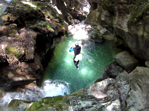 canyon en isere autour de grenoble et du vercors canyoning villard de lans chambery