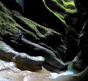 canyoning vercors lyon grenoble isere