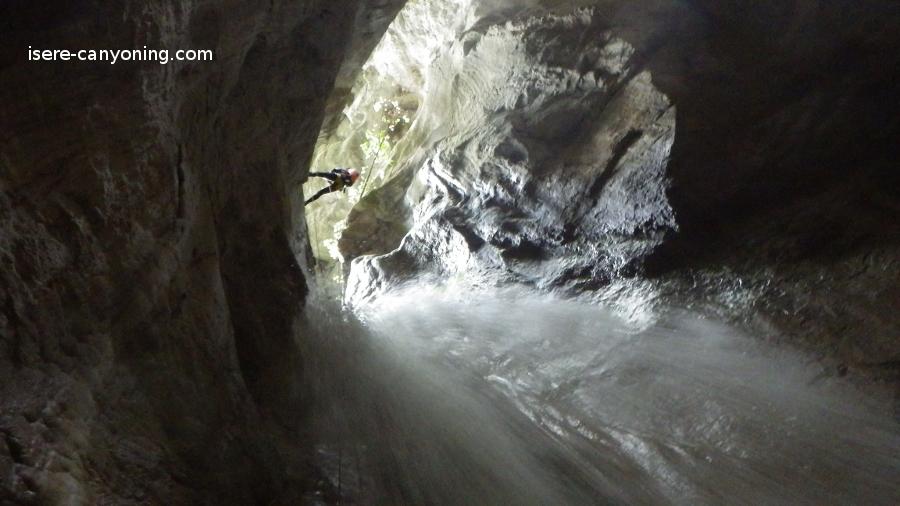 canyon de l'infernet Chartreuse