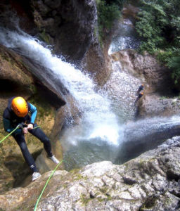 grenoble canyoning alloix chambery