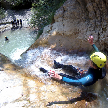canyon des moules marinieres vercors