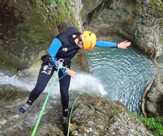 canyoning au Versoud grenoble