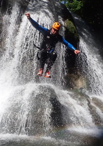 saut canyoning du furon bas