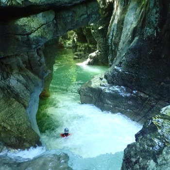 canyoning vercors ecouges rappel superieur